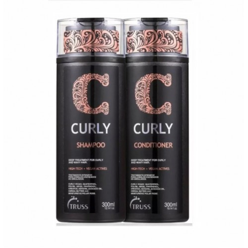 Truss Curly Kit Shampoo E Condicionador Original 300 M