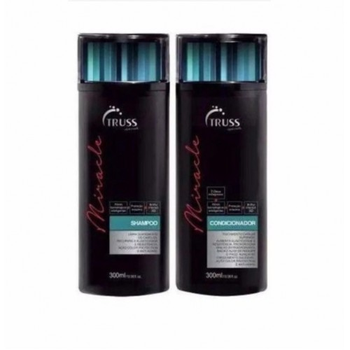 Truss Kit Miracle Shampoo E Condicionador 300 Ml